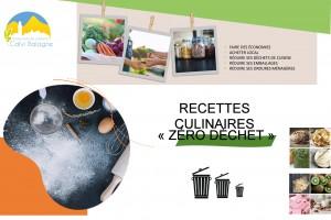 Couverture Recettes culinaires Zéro Déchet